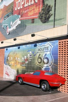 The Joplin, Mo., Chamber of Commerce  Route 66 Mural