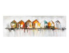 JONAS - Tableau peint à la main 150cm x 50cm