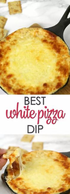 White Pizza Dip - people can't seem to get enough of this easy warm dip recipe