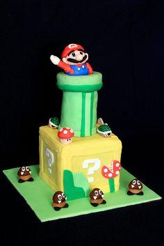Super Mario Cake by serff