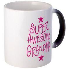 Super Awesome grandma Mugs