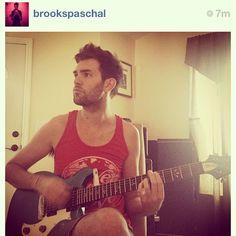❤ @brookspaschal is reppin LTL again in the studio ( @mockingbirdstud ) today! #livetolove