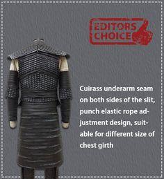 ZCSC STUDIO Game of Thrones Night King Cosplay Costume - Thumbnail 4