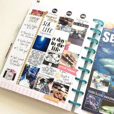 memory keeping w/ a fold-put POCKET PAGES™ card in The Happy Planner™ of mambi Design Team member Jen Randall | me & my BIG ideas