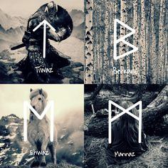 All Things Heathen,Viking and Heathen Related Clothing and accessories Wiccan Runes, Norse Runes, Norse Pagan, Viking Symbols, Egyptian Symbols, Viking Runes, Norse Mythology, Mayan Symbols, Ancient Symbols