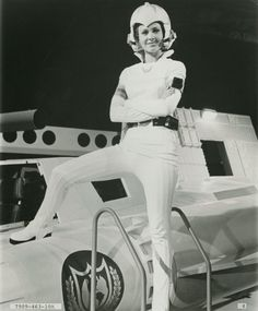 """""""Colonel Wilma Deering from Buck Rogers in the 25th Century (Erin Gray, 1979 TV show)"""" ~retro-futurism"""