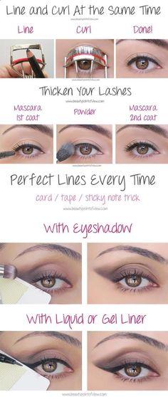 Beauty Hacks for Teens - Eye Makeup Tricks – Must Know - DIY Makeup Tips and H. - - Beauty Hacks for Teens - Eye Makeup Tricks – Must Know - DIY Makeup Tips and Hacks for Skin, Hairstyles, Acne, Bras and Everything in Between - Pictur. Makeup Tricks, Eye Makeup Tips, Makeup Dupes, Makeup Brushes, Makeup Ideas, Makeup Products, Makeup Eyeshadow, Eye Tricks, Glitter Eyeshadow