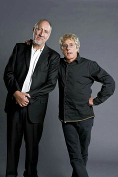 Pete Townshend and Roger Daltrey The Who