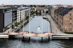 Cirkelbroen (The circle bridge) by Olafur Eliasson in Copenhagen, Denmark