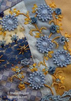 Sharon B's PinTangle Hand Embroidery/Fiber Art blog