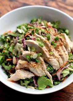 Asian Chicken Salad | PBS Food