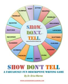 Worksheets Show Don T Tell Worksheets descriptive writing powerpoint 5th grade 1000 images about show don t tell on
