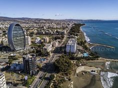 The oval, Crowne plaza and Dasoudi beach where I live Limassol, Cyprus, Cool Places To Visit, Places Ive Been, The Good Place, City Photo, World, Beach, Live