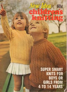 Knitting Book New Idea Children's Knitting  by jennylouvintage