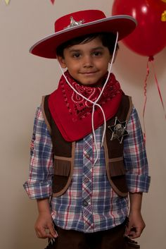 Costume de cow-boy - Animations/Déguisements - Sweet Party Day