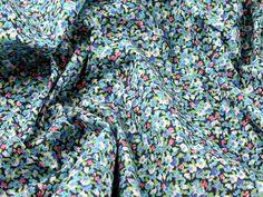 Tiny Floral Print Polycotton Dress Fabric | Fabric | Dress Fabrics | Minerva Crafts