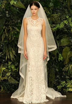 Naeem Khan Fall/Winter 2014 Wedding Dresses. All of these are STUNNING.