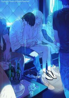 Este manga me encanta, el unico yuri que me gusta.