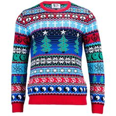 13f702c50c6e1 British Christmas Jumpers - The Multicultural Christmas Jumper (Unisex)  (XXL) Santa Ugly