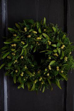 deuxR - Natural Flower - ドライフラワー教室・アレンジ販売・ワークショップ: ヤドリギリース本日ご予約受付開始いたします。