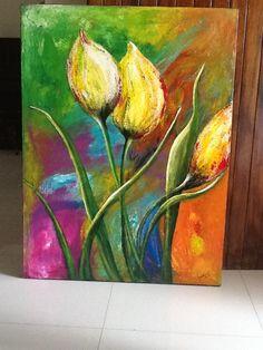 Painting by Martha Villarreal