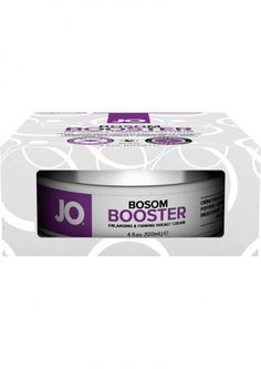 Want to turn heads with your voluptuous, feminine figure? JO Bosom Booster gives you noticeably fuller, firmer curves that will really make them say wow! This gentle daily use cream stimulates breast growth with natural ingredients, enhances volume and tones skin without surgery or hormones. It is based off of ingredients that have been clinically proven to enhance volume in multiple ways. You will notice a slight immediate boost, along with a more rewarding visual display after the first 6…