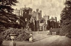Panshanger House, Hertfordshire - inherited by Ettie Desborough from her uncle, the seventh and last Earl Cowper, in 1905.