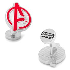 Marvel The Avengers Cuff Links, Red