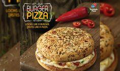 Domino's India Unveils the BurgerPizza