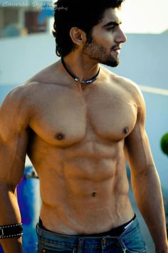 Beauty of the Indian Male Facial, Male Chest, Indian Man, Awesome Beards, Straight Guys, Shirtless Men, Muscle Men, Male Beauty, Male Body