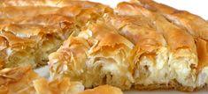τυροπιτα στριφτη με φετα και ανθοτυρο Spanakopita, Cauliflower, Menu, Pie, Vegetables, Ethnic Recipes, Desserts, Food, Greece