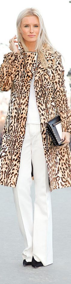 white and leopard - Kate Davidson Hudson