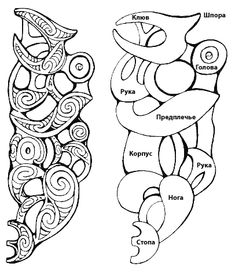 Maori Designs, Maori Words, Tribal Drawings, Maori Symbols, Maori Patterns, Black Bird Tattoo, Warrior Drawing, Polynesian Tribal, Maori Art