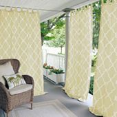 Elrene Connor Indoor/Outdoor Light-Filtering Tab-Top Single Curtain Panel - JCPenney
