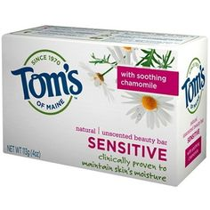 Tom\'s of Maine Soap on sale now at Well.ca! - Their standards for natural: Sourced in nature Simple and understandable ingredients Free of artificial preservatives, colors, sweeteners, flavors, fragrances, and other additives Free of animal ingredients Made of high-quality ingredients Subject to limited processing Purposeful in the system of ingredients Promote organically grown ingredients wherever possible and practical
