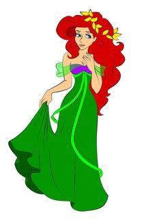 Ariel as Giselle by *DisneyWiz on deviantART