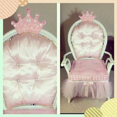 pink princess throne just about done with it