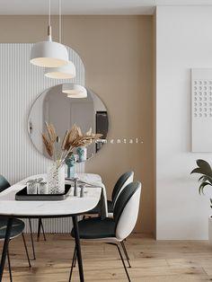 Interior Walls, Interior Design, Wall Design, House Design, Serviced Apartments, Diy Wall, Wall Colors, New Homes, Behance