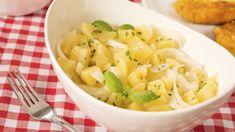 Rezept: Kartoffelsalat mit Brühe