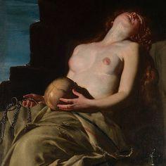 Artemisia Gentileschi, Magdalena Desvanecida, 1625