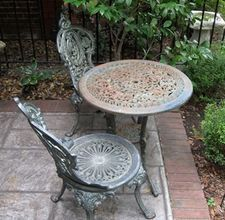 Repaint Wrought Iron Patio Furniture