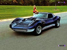 Corvette Mako Shark II (1965)---Totally and completely in love with this!!