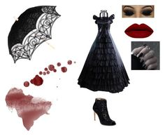 """""""Untitled #188"""" by themadhattersnightmare on Polyvore featuring Badgley Mischka"""
