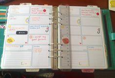Finally! My planner is usable again! #filofax #vanderspek a5