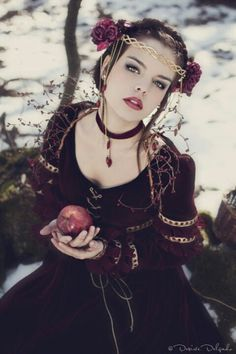 I think in every story eating the apple is a bad idea. Don't eat the apple…