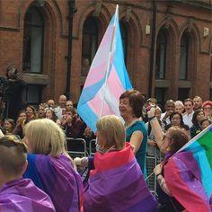 #Manchester #mancspride #lgbtqia #pride #trans #transgender