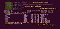 How to Mount Remote Linux Filesystem or Directory Using SSHFS Over SSH