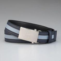 Fancy - Saffiano Stripe Belt by Prada
