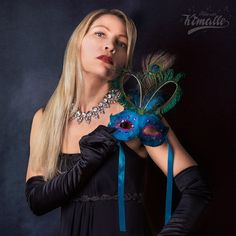 Photo by Maria Kimalle #glamour #mask
