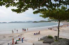 Final de tarde na Praia de Quatro Ilhas
